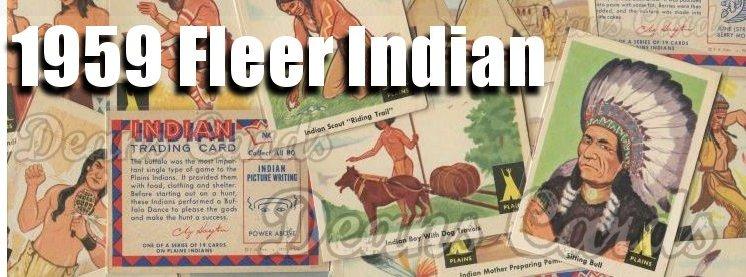 1959 Fleer Indian