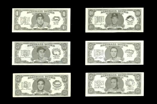 1962 Topps Baseball Bucks