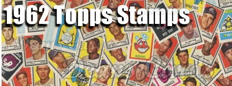 1962 Topps Stamps Baseball Cards