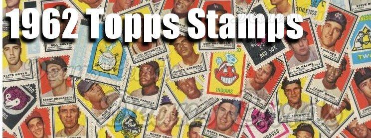 1962 Topps Baseball Stamps