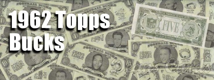 1962 Topps Bucks Inserts