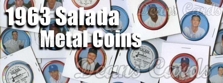 1963 Salada Metal Coins