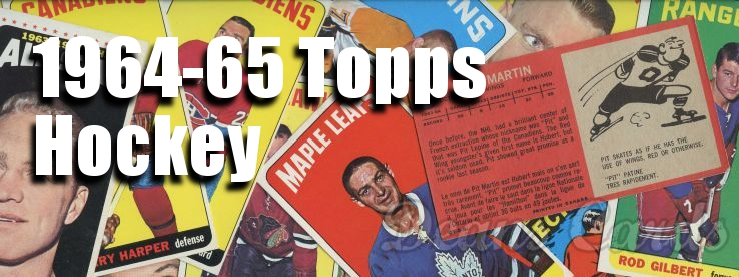 1964-65 Topps Hockey Cards
