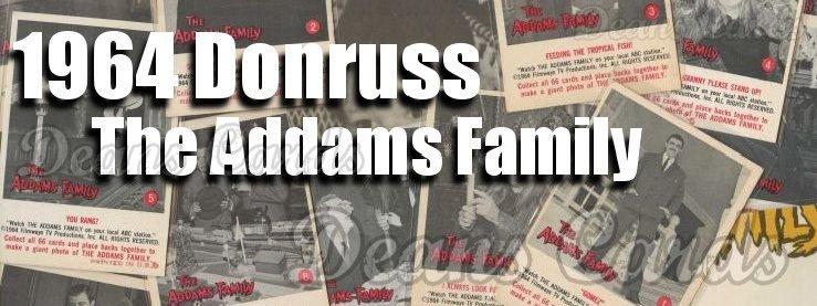 1964 Donruss Addams Family