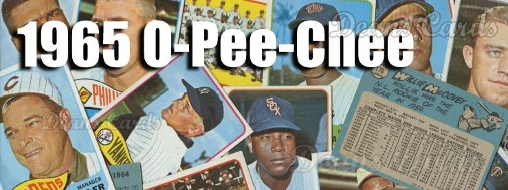 1965 O-Pee-Chee Baseball Cards