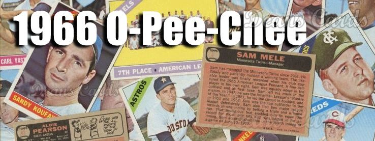 1966 O-Pee-Chee Baseball Cards