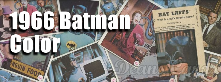 1966 Topps Batman Color