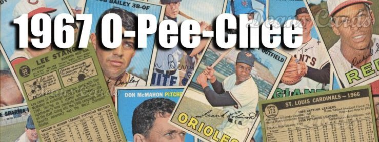 1967 O-Pee-Chee Baseball Cards
