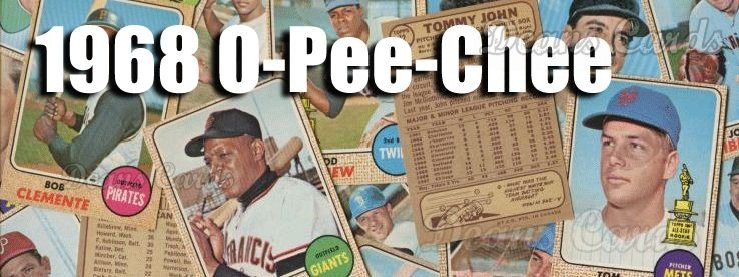 1968 O-Pee-Chee Baseball Cards