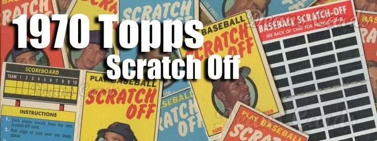 1970 Topps Scratch-off