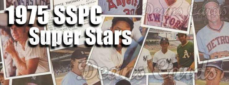 1975 SSPC Superstar Baseball Cards