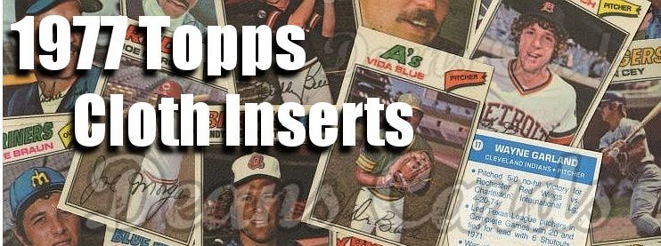 1977 Topps Cloth Stickers