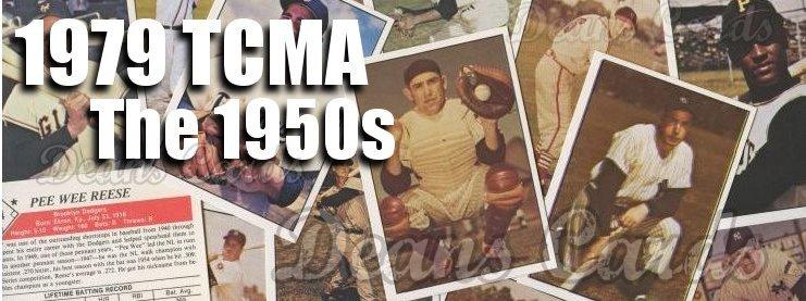 1979 TCMA 50s Baseball Cards