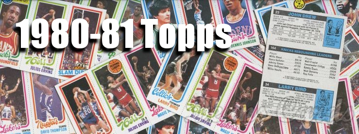 1980-81 Topps Basketball Cards