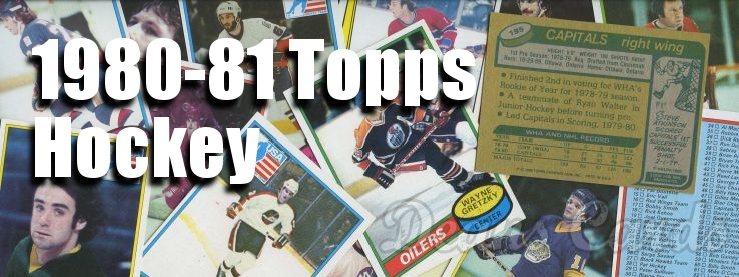 1980-81 Topps Hockey Cards