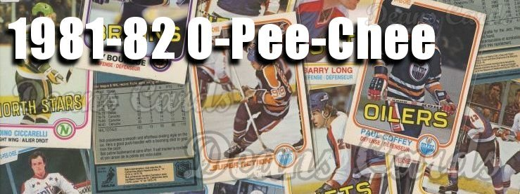 1981-82 O-Pee-Chee Hockey Cards