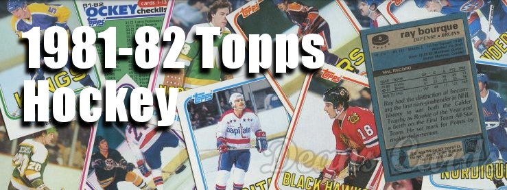 1981-82 Topps Hockey Cards