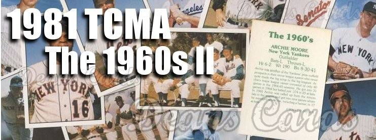 Buy 1981 Tcma The 1960s Ii Baseball Cards Sell 1981 Tcma The