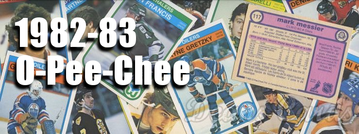 1982-83 O-Pee-Chee Hockey Cards