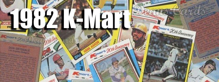1982 K-Mart Baseball Cards