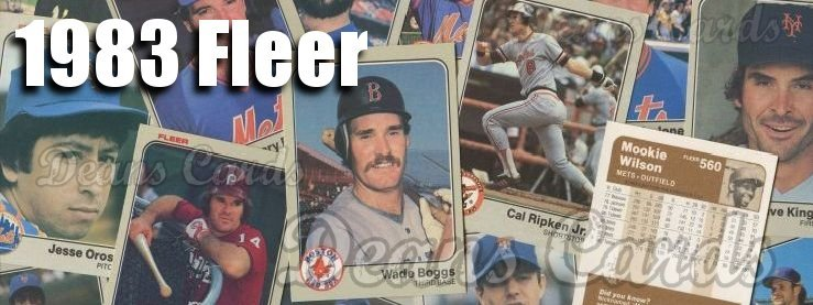 1983 Fleer Baseball Cards