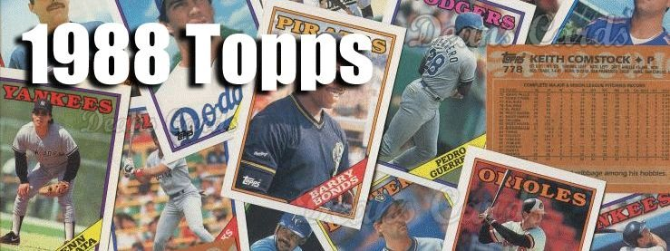 Buy 1988 Topps Baseball Cards Sell 1988 Topps Baseball Cards