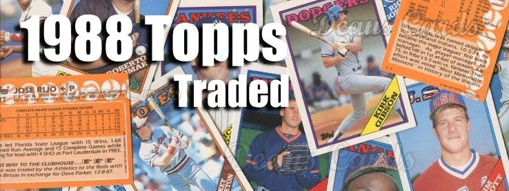 1988 Topps Traded Baseball Cards