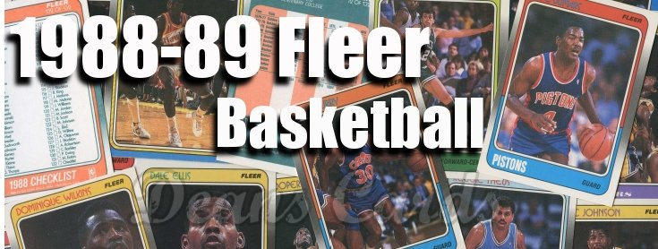 1988-1989 Fleer Basketball Cards