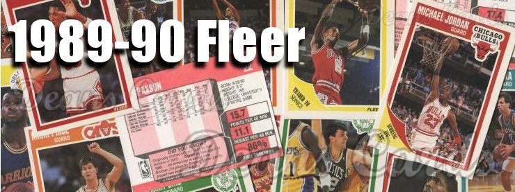 1989-90 Fleer Basketball Cards
