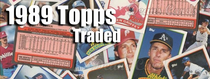 1989 Topps Traded Baseball Cards