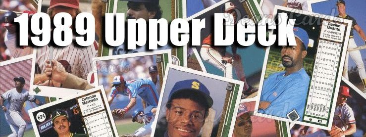 Buy 1989 Upper Deck Baseball Cards Sell 1989 Upper Deck Baseball