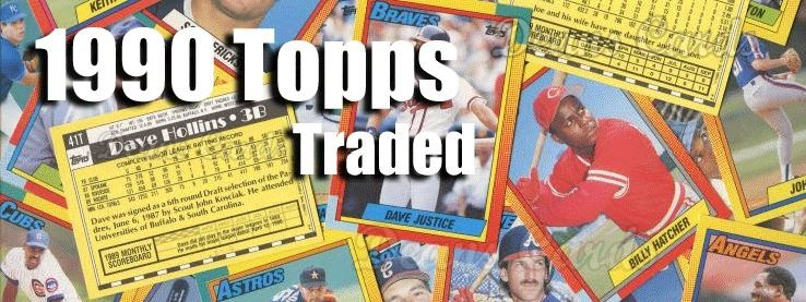 1990 Topps Traded Baseball Cards