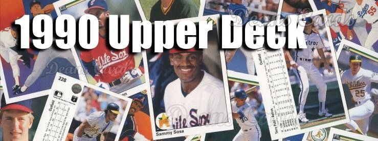 1990 Upper Deck Baseball Cards