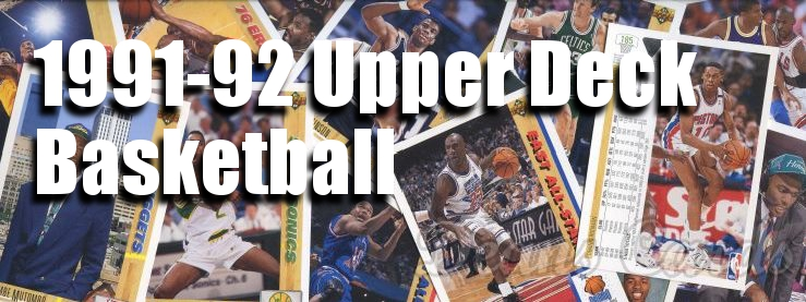 1991-92 Upper Deck Basketball Cards