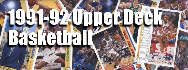 1991-92 Upper Deck Basketball Cards