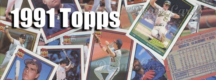 Buy 1991 Topps Baseball Cards Sell 1991 Topps Baseball Cards