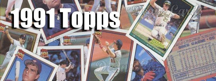 1991 Topps Baseball Cards