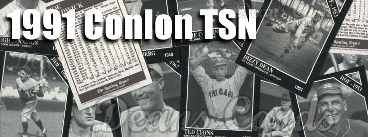 1991 Conlon The Sporting News Baseball Cards