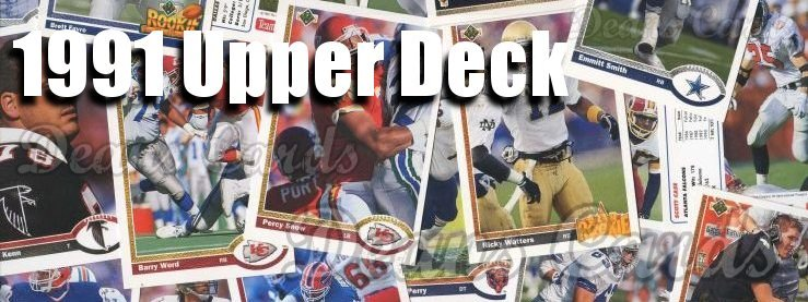1991 Upper Deck Football Cards