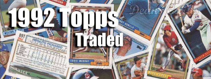 1992 Topps Traded Baseball Cards