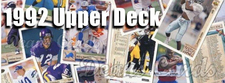 1992 Upper Deck Football Cards