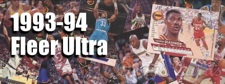 1993-94 Fleer Ultra Basketball Cards