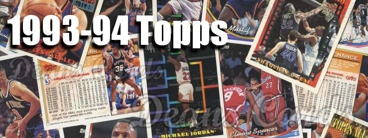 1993-94 Topps Basketball Cards