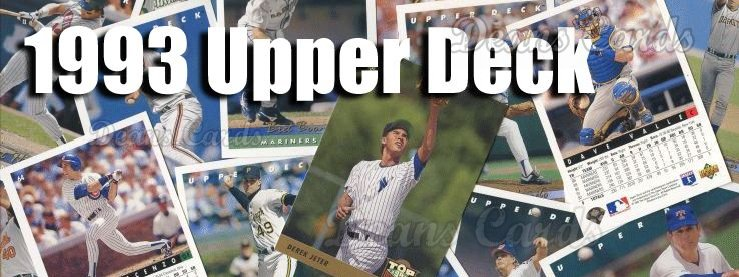 Buy 1993 Upper Deck Baseball Cards Sell 1993 Upper Deck