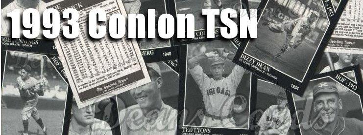 1993 Conlon Baseball Cards