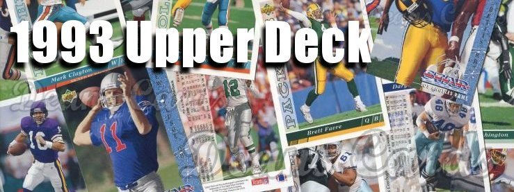 1993 Upper Deck Football Cards