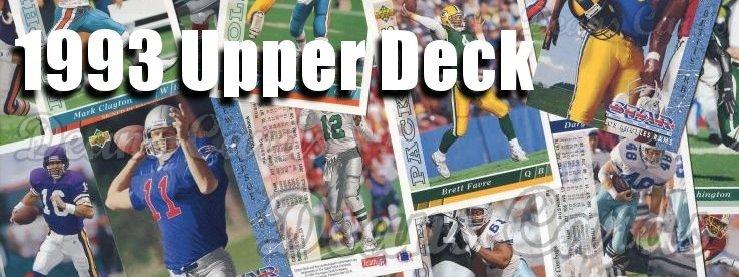 1993 Upper Deck Football Cards