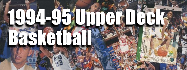 1994-95 Upper Deck Basketball Cards