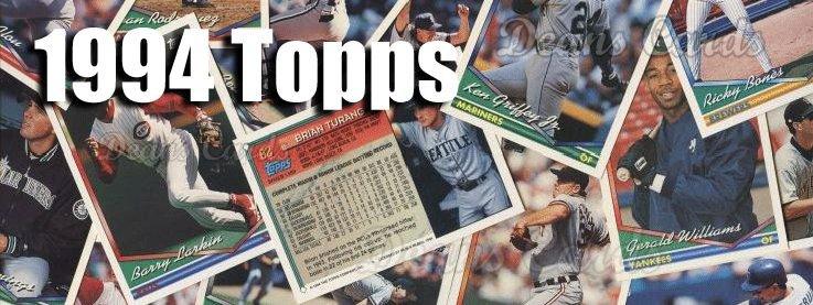 1994 Topps Baseball Cards