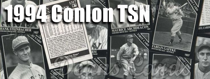 1994 Conlon TSN Baseball cards, 1994 Conlon TSN Baseball Card Set ...